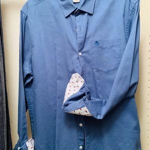 Original Penguin Dress Shirt- Heritage Slim